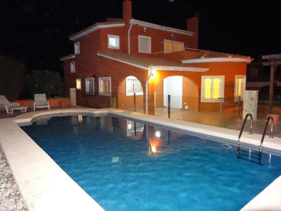 Villa by night!