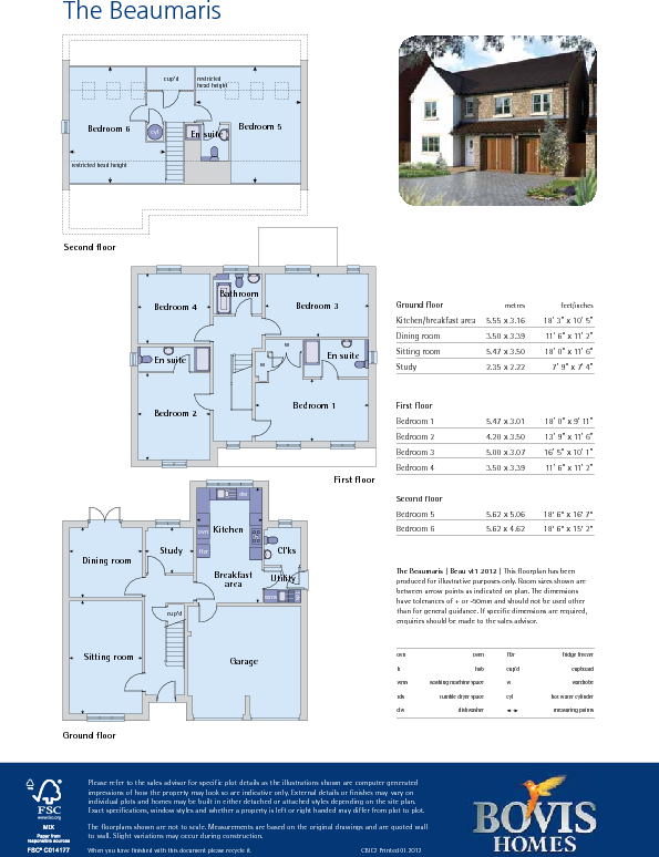 Beaumaris Floor Plan
