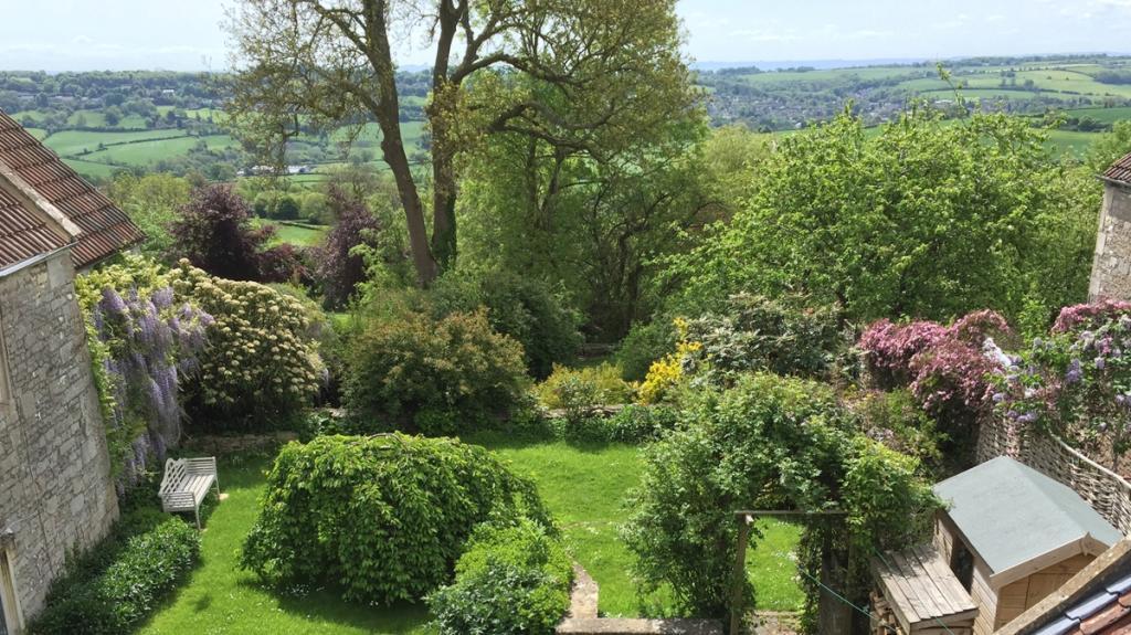 CC View of garden...