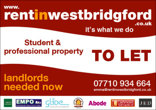 Rent In West Bridgford, Nottinghambranch details