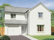 4 bed new house for sale in Burnbrae Loan, Bonnyrigg...