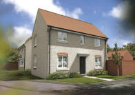 3 bed new house for sale in Hampshire Gardens...