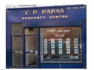CP Papas Property Centre, Londonbranch details
