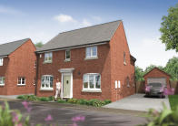 4 bed new home for sale in Sorrel Drive Bridgwater...