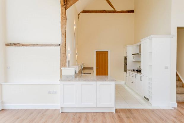 Open Plan To Kitchen