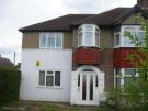 Maisonette to rent in Church Road, Northolt...