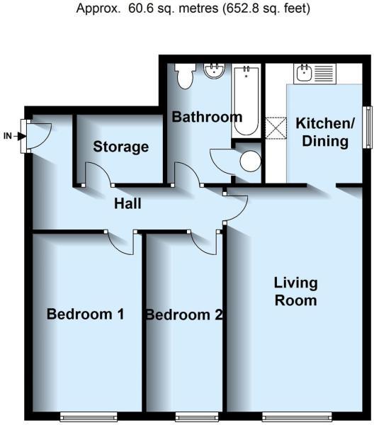Floor Plan - Flat 31