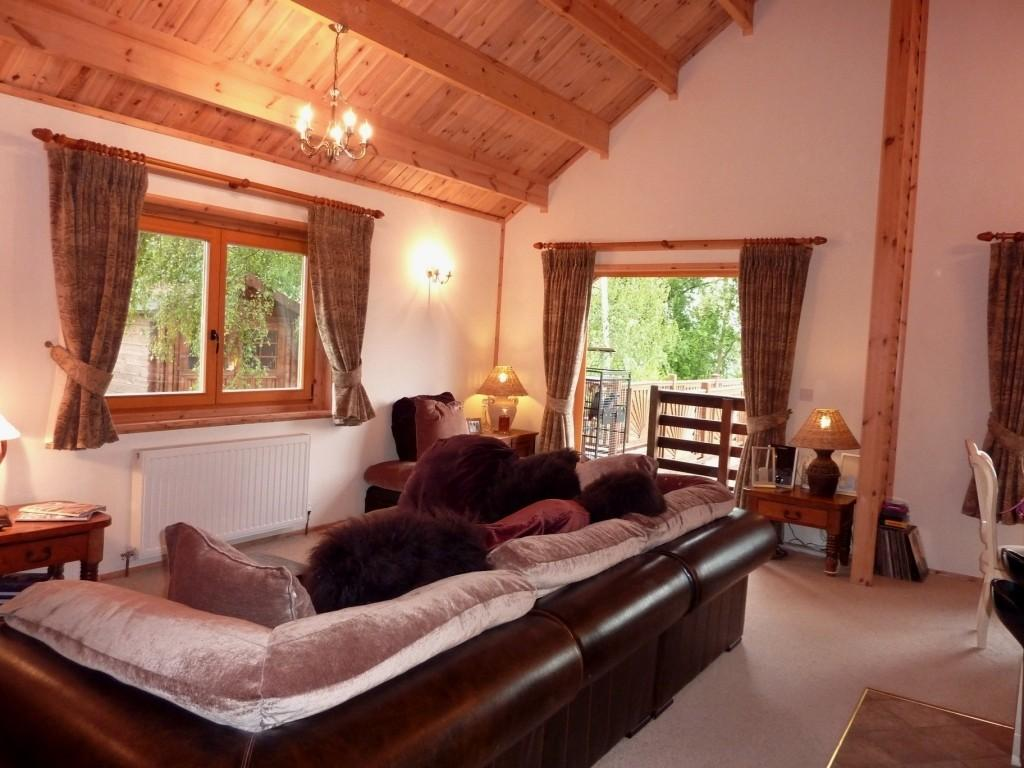 Bedroom Log Cabin For Sale In The Ramparts Tattershall Lakes Country . Full resolution  image, nominally Width 1024 Height 768 pixels, image with #A34728.