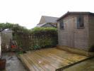 Rear deck/shed