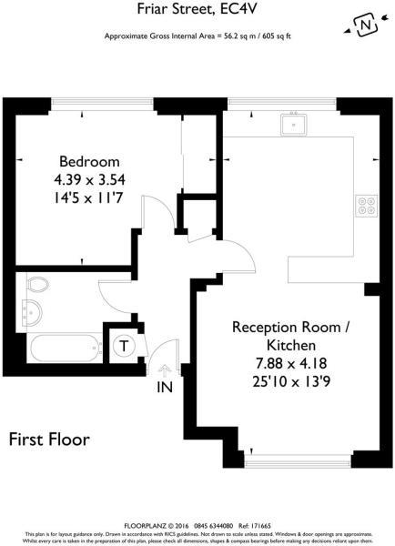 Priory House flat 2