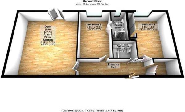 Flat 2, Micker Court, Cheadle Hulme, SK8 5RE