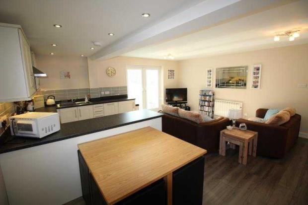 open plan living are 2