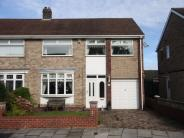 4 bed semi detached property in Stainton Road...