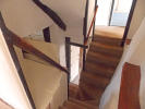 Split level stair...