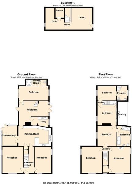Floor plan portrait.