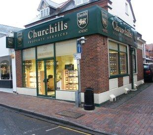 Churchills Property Services, Camberleybranch details