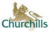 Churchills Property Services, Camberley logo
