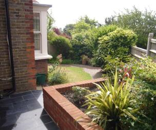 photo of garden and front garden