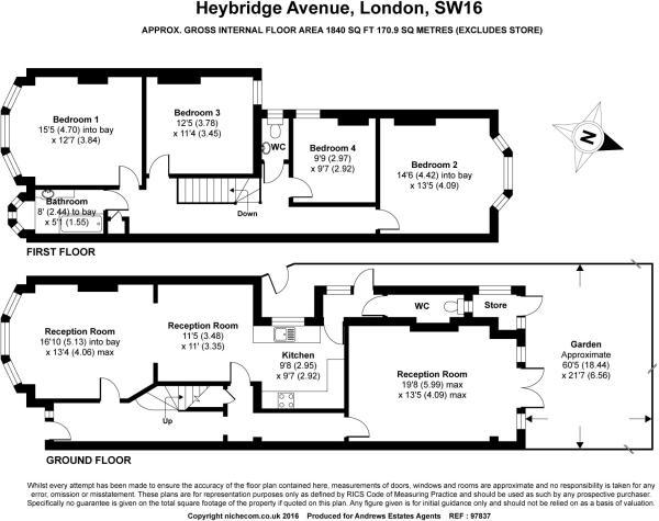 heybridge avenue