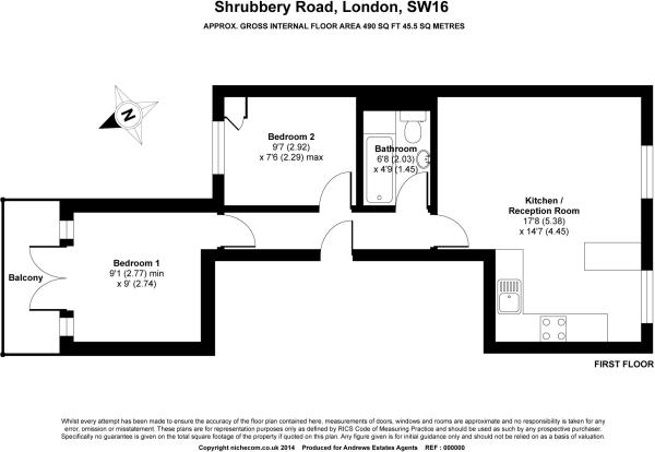 shrubbery rd floor plan