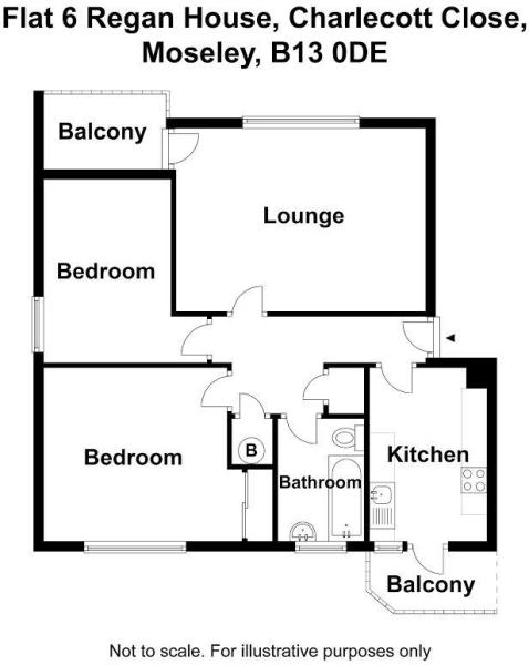 Flat 6 Regan House C