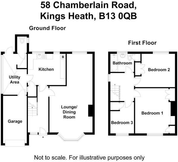 58 Chamberlain Road.
