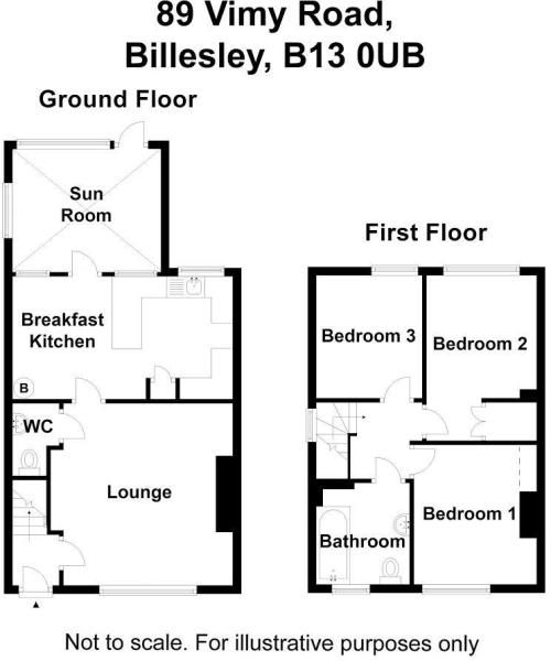 89 Vimy Road - floor