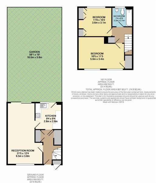 Floor Plan - 65 Shor