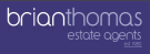 Brian Thomas Estate Agents, Chadwell Heath logo