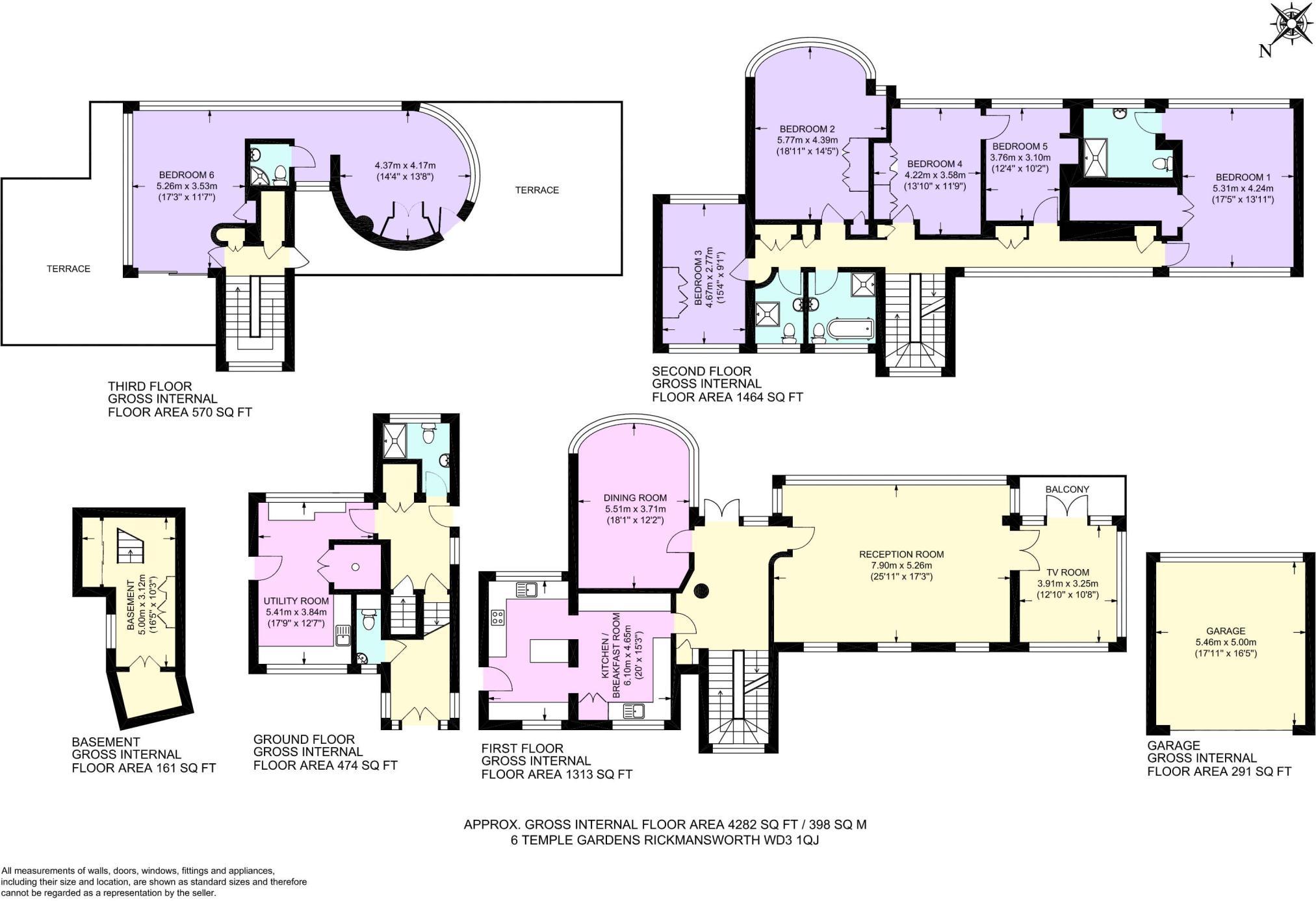 6 bedroom detached house for sale in temple gardens moor park ha6