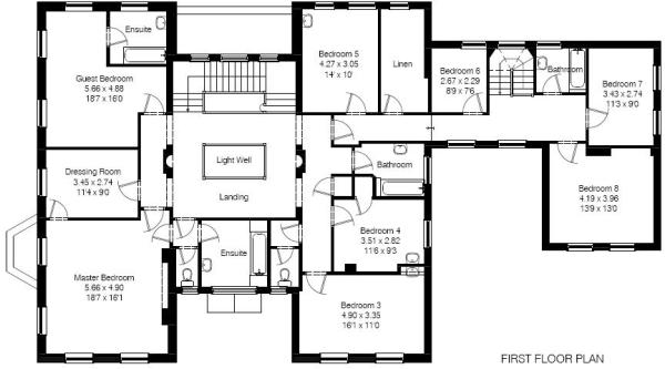 8 bedroom house plans european house plan with 7620 square for 8 bedroom home plans