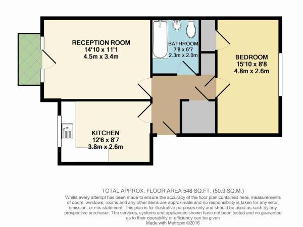Floor Plan - Flat 4