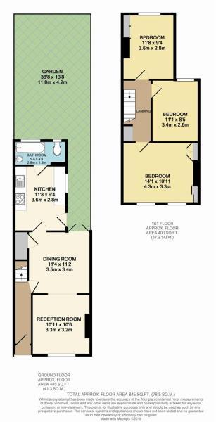 Floor Plan - 18 Alph