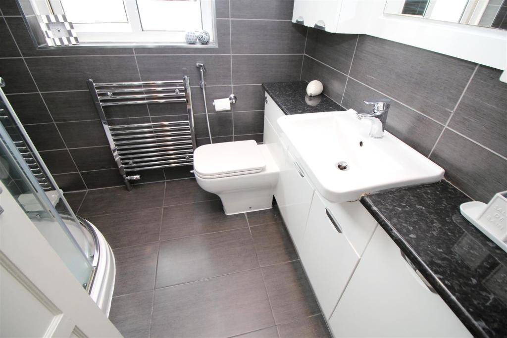 Refitted Shower-Room