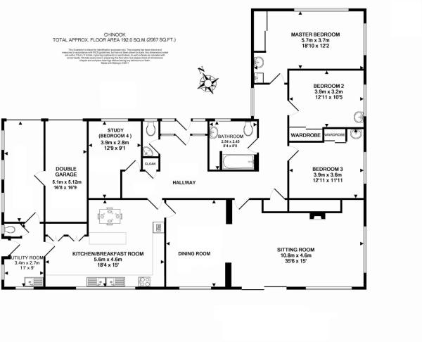 Bungalow Floor Plans Uk on floor plan for 3 bedroom 2 bath house