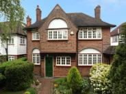 Detached home for sale in The Ridgeway, London...
