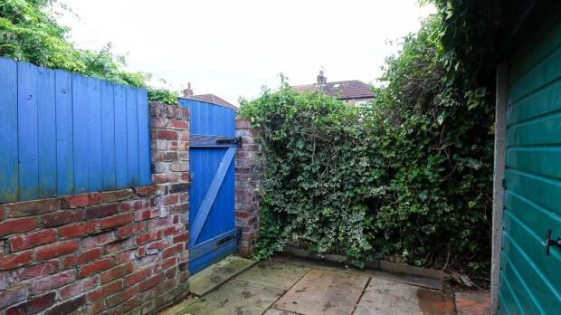 Back Garden Gate ...
