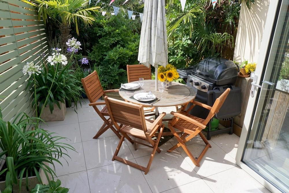 Pleasant patio