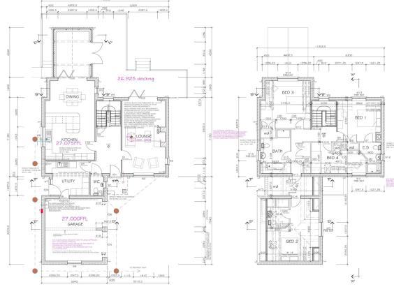 Plot 1 (Floor Plans)