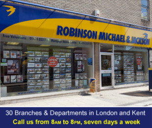 Robinson Michael & Jackson, Gravesend and Northfleet - Salesbranch details