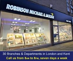 Robinson Michael & Jackson, Gravesend and Northfleet - Salesbranch details