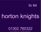 Horton Knights, Doncaster Lettings branch logo