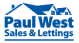 Paul West Sales & Lettings , Ipswich logo