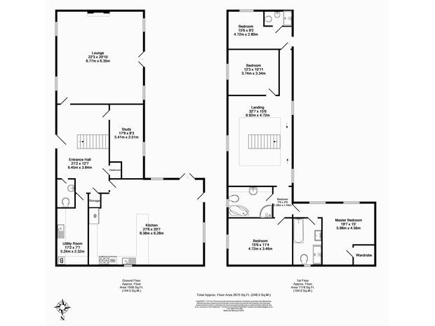 4 bedroom detached house for sale in penshaw lane old for 16 brookers lane floor plans