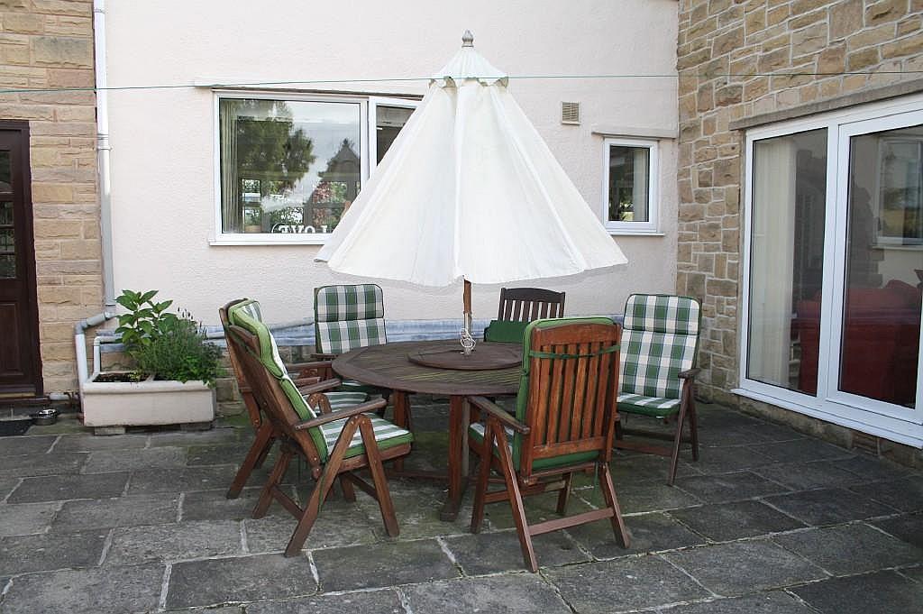 photo of garden and patio
