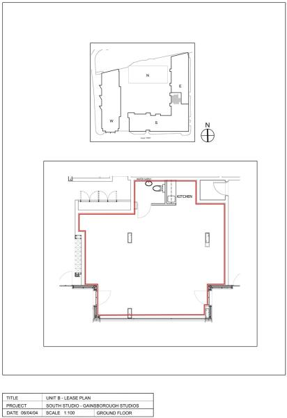 Floorplan South