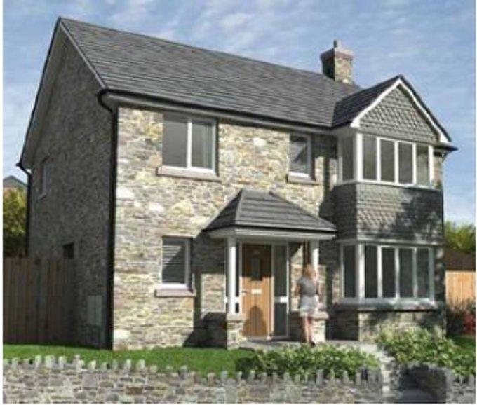 4 bedroom new home for sale in Bailihelig Road Brecon...