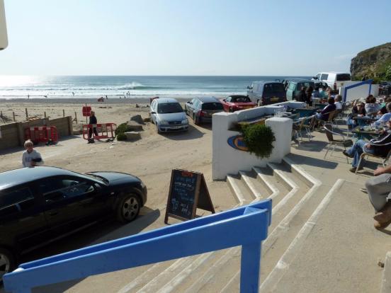 Bar on the beach!