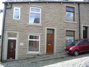 property to rent in Application Fee's Apply. Albert Terrace Bacup. End Terrace, Two Bedrooms, GCH/DG, Small Utility Extension, Un-Furnished,
