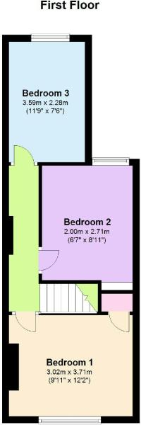 Floor Plan - First Floor